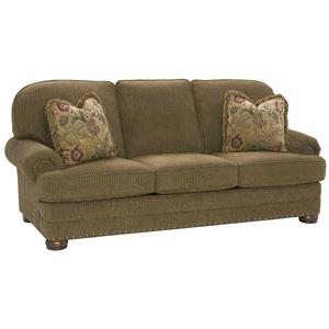 King Hickory Edward High Class Sofa with Casual Charm