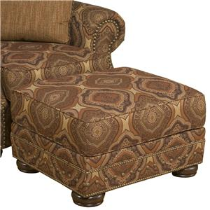 Morris Home Furnishings Edward Ottoman