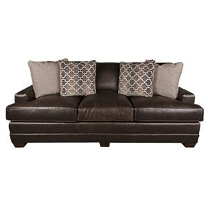 Biltmore Iverson Iverson 100% Leather Sofa