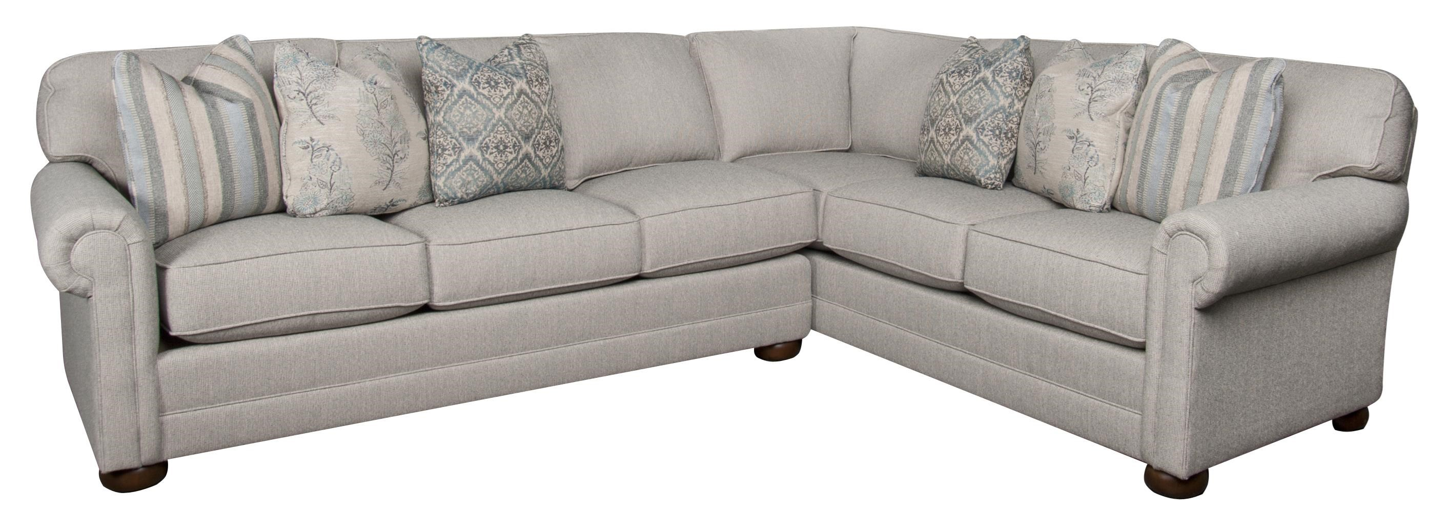 Morris Home Furnishings Jacqueline Jacqueline 2-Piece Sectional - Item Number: 134234235