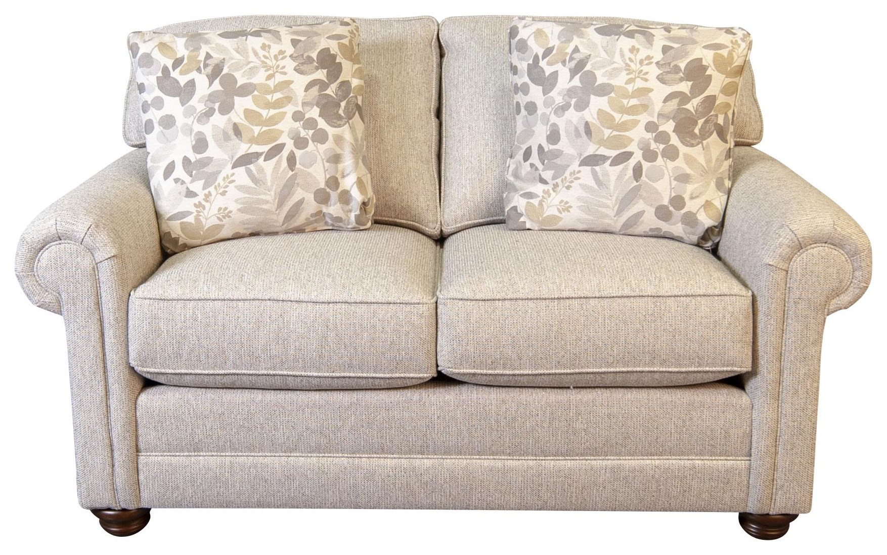 Jacqueline Jacqueline Loveseat by King Hickory at Morris Home