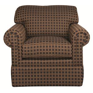 Morris Home Furnishings Jaqueline Jaqueline Swivel Chair