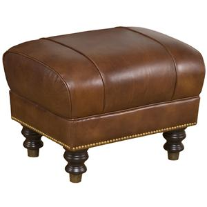 Morris Home Accent Chairs and Ottomans London Accent Ottoman