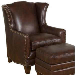 King Hickory Accent Chairs and Ottomans Athens Traditional Accent Chair