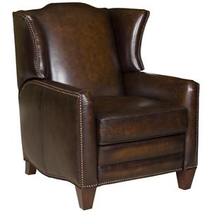 King Hickory Accent Chairs and Ottomans Athens Recliner