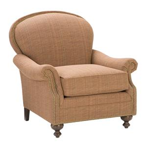 Morris Home Furnishings King Hickory Accent Chairs and Ottomans Pinehurst Accent Chair