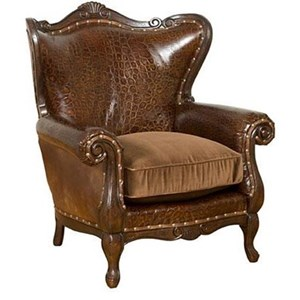 Isabella Chair With Rolled Arms. See All Accent Chairs By King Hickory