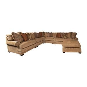 Biltmore Ramelle Ramelle Sectional with Accent Pillows