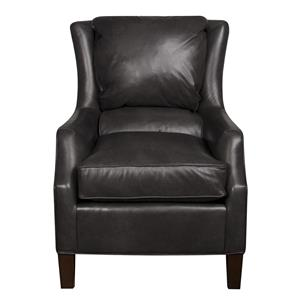 Morris Home Furnishings Sherry Sherry Leather Chair