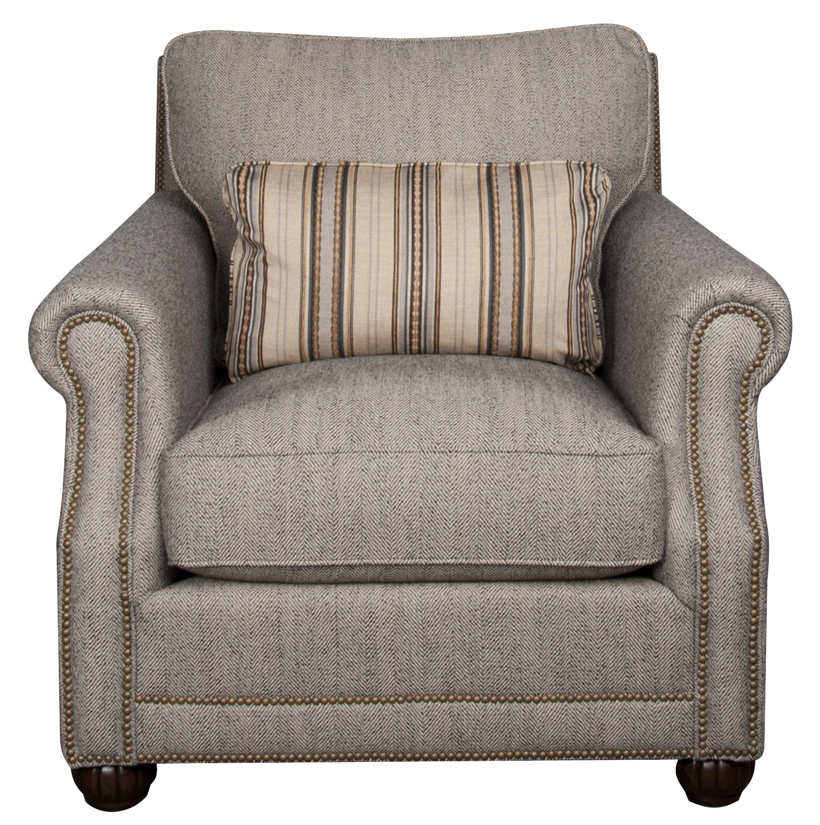 Morris Home Furnishings Sherry Sherry Fabric Accent Chair - Item Number: 807442335