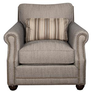 Morris Home Sherry Sherry Fabric Accent Chair