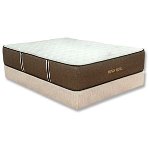 Park Place Corp Jacquelyn Firm Twin Coil on Coil Firm Mattress Set
