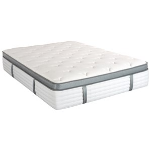 King Koil Laura Ashley Willow Queen Euro Top Pocketed Coil Mattress