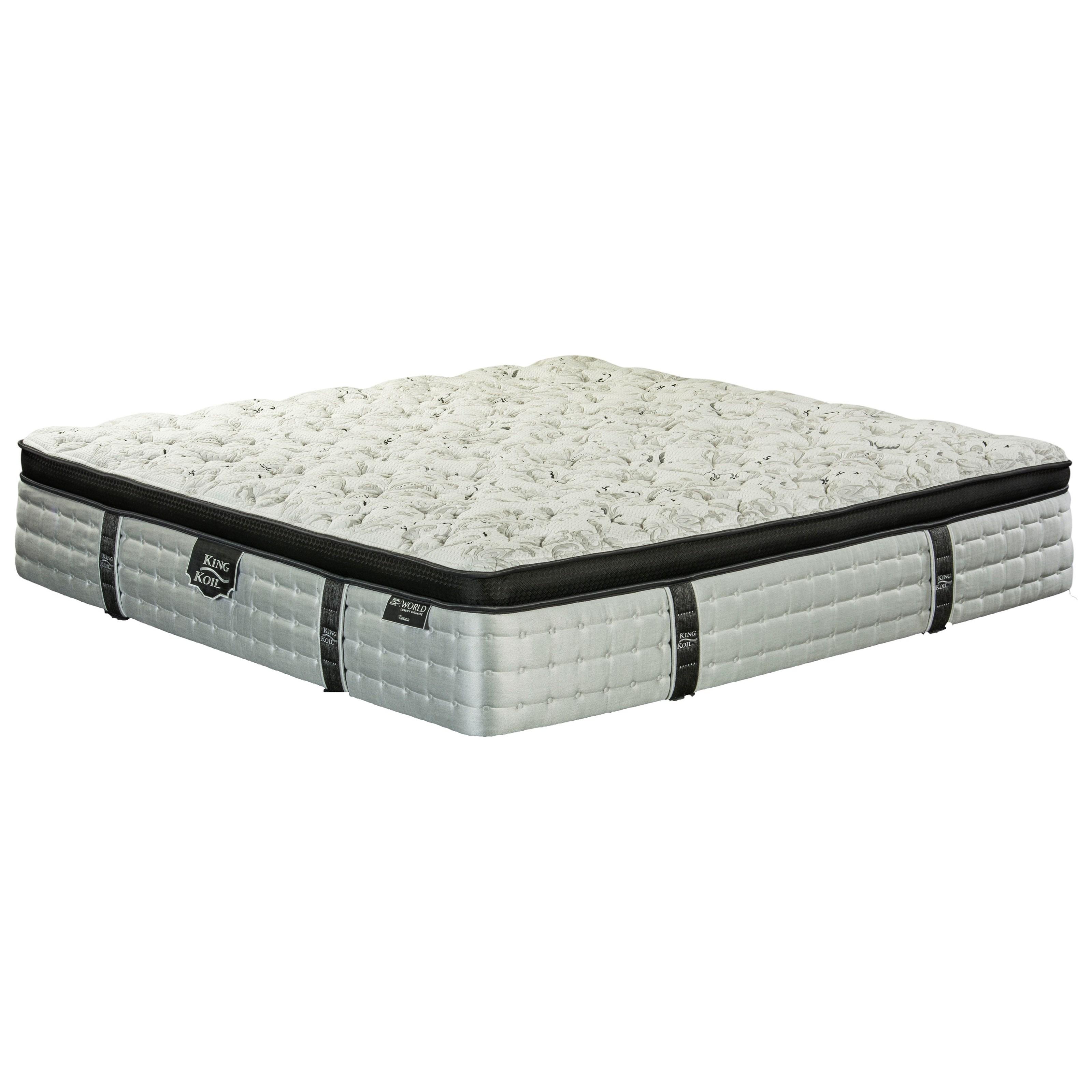 king koil vienna euro top queen euro top mattress item number euroq