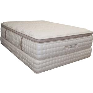 King Koil World Luxury - Devonshire Twin Extra Long Pillow Top Mattress and Foundation