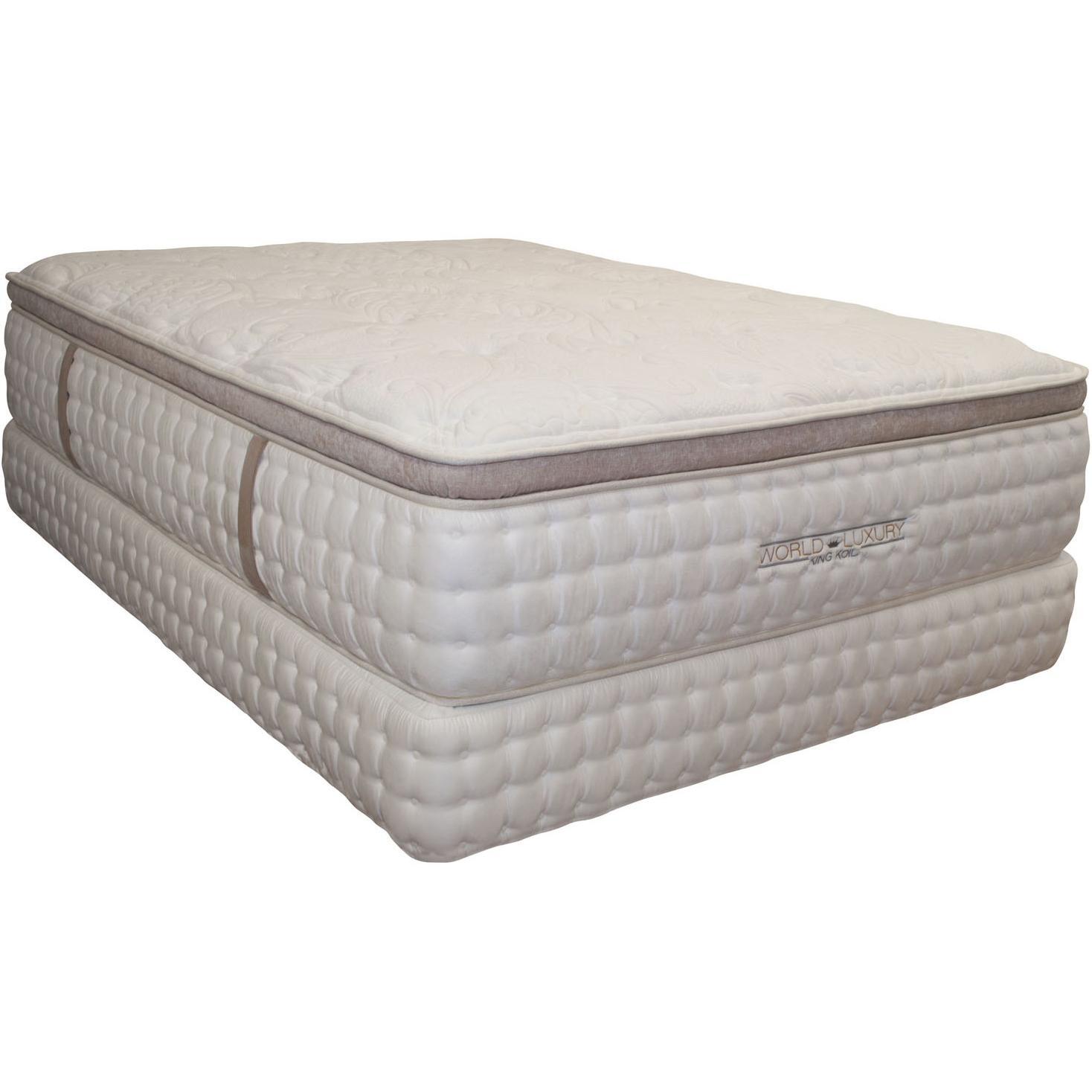 King Koil World Luxury - Kingsbury Queen Pillow Top ...