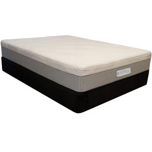 King Koil XS1-14 Twin Pocketed Coil Mattress and Foundation
