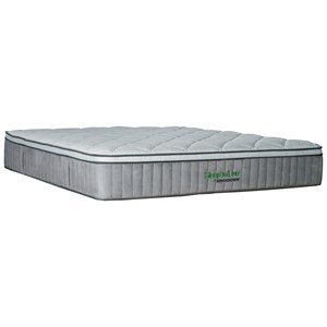 "Kingsdown 5227 Blue 200 Series Queen 13.5"" Cushion Firm Luxury Mattress"