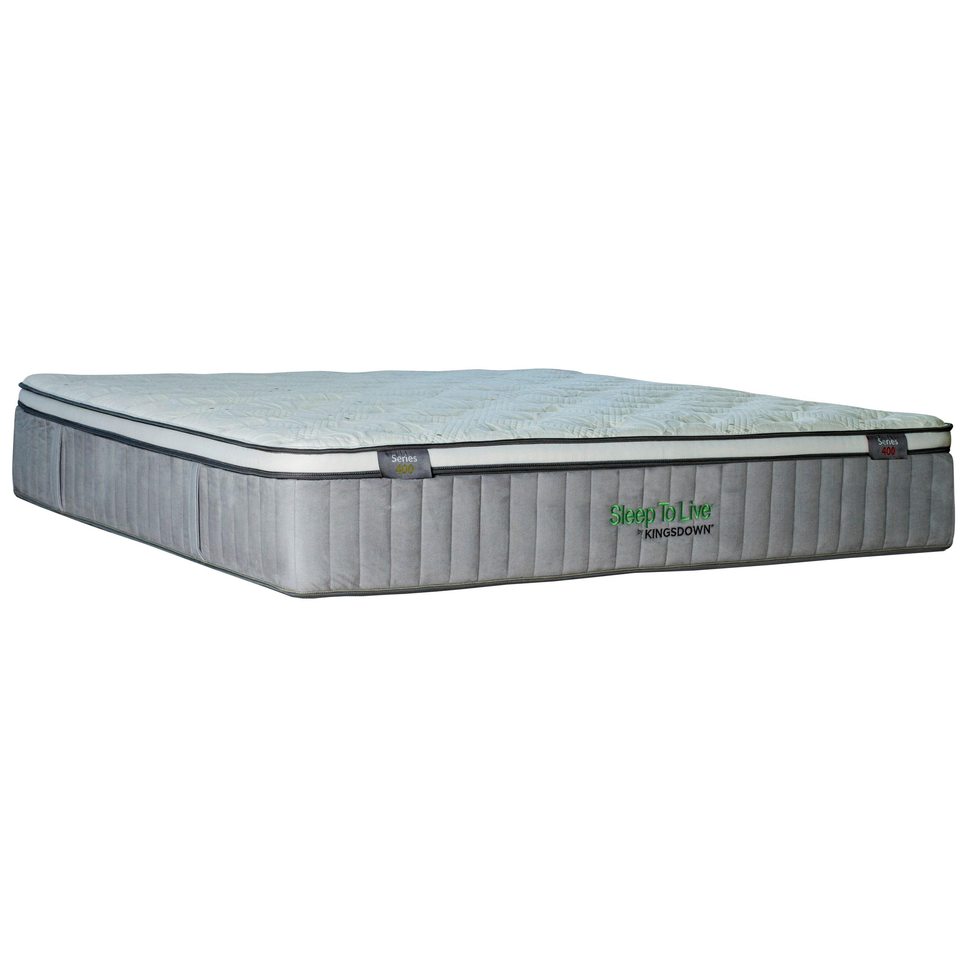 "Kingsdown 5234 Green Series 400 Twin XL 14 1/2"" Plush ET Luxury Mattress - Item Number: 5234-TXL"