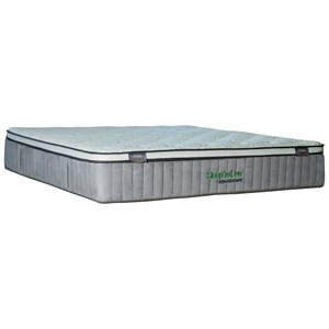 "Kingsdown 5234 Green Series 400 Queen 14 1/2"" Plush ET Luxury Mattress"