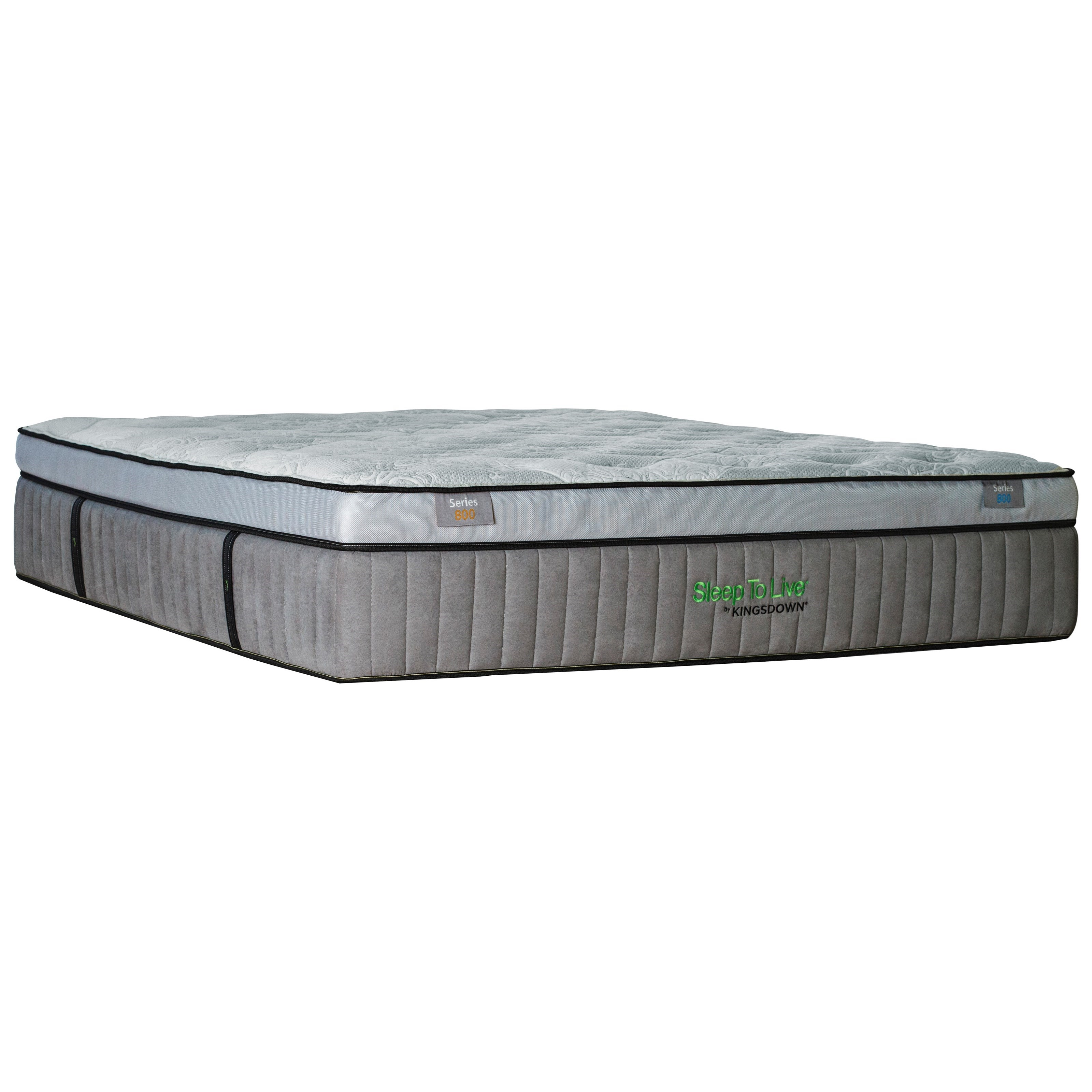 "Kingsdown 5257 Blue Series 800 Twin XL 16.5"" Cushion Firm Box Top Mattress - Item Number: 5257-TXL"