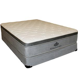 Kingsdown Anniversary Gold King Euro Top Mattress Set