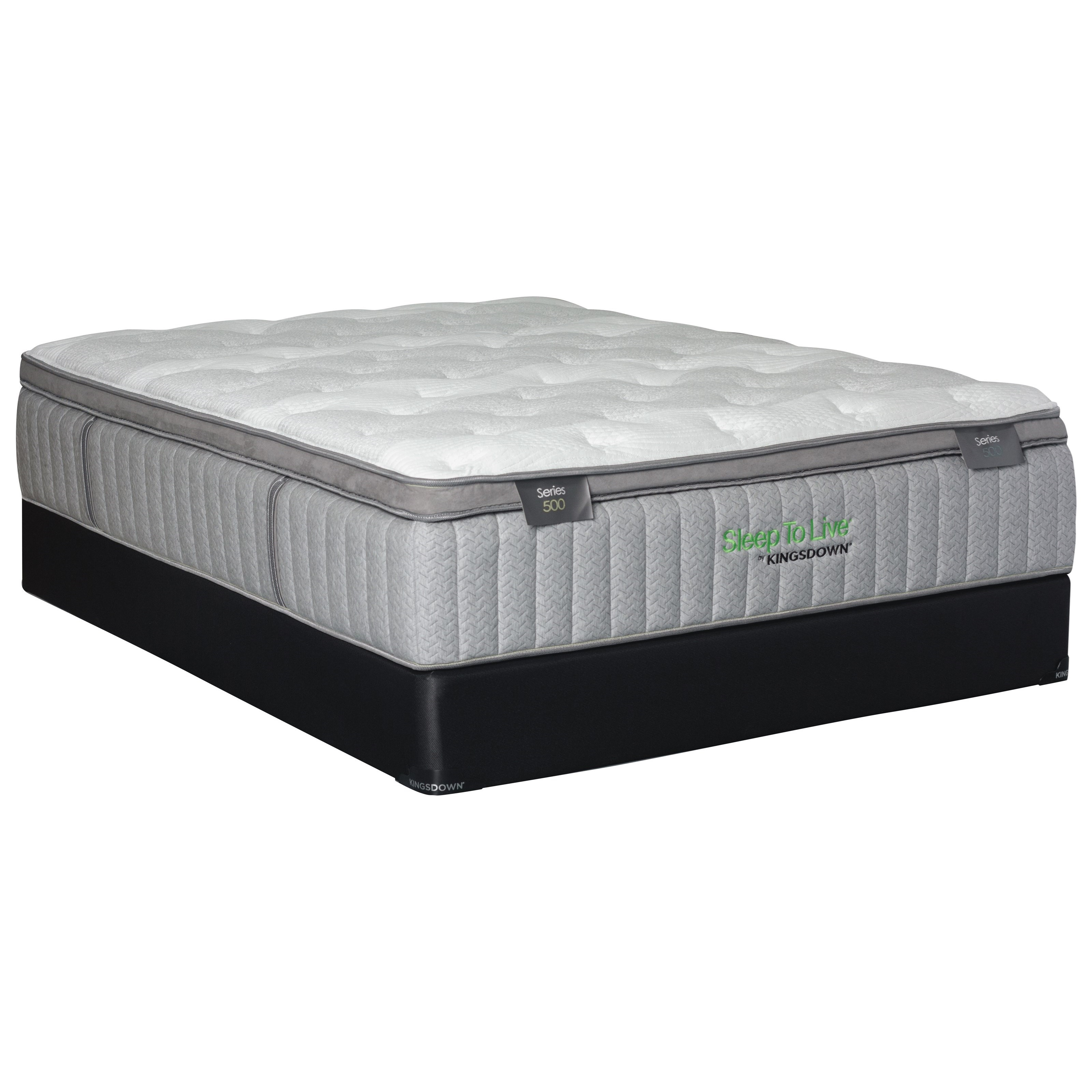 Back Smart Series 500 King Back Smart Series 500 Mattress Set by Sleep to Live at Baer's Furniture