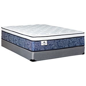 "Full 13 1/2"" Pocketed Coil Mattress Set"