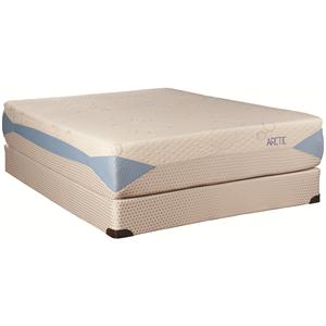 Kingsdown Blu-Tek Arctic Queen Memory Foam Mattress