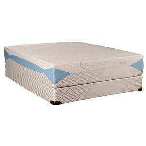 Kingsdown Blu-Tek Frost Queen Memory Foam Mattress