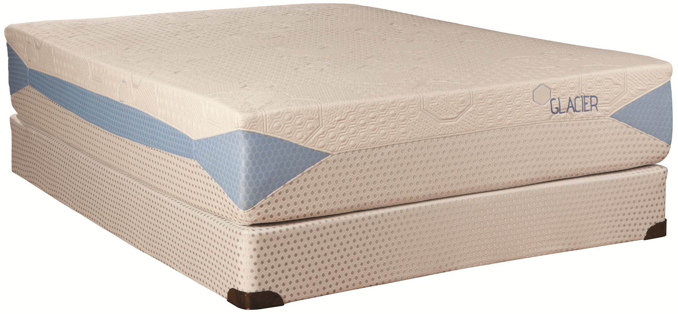 Kingsdown Blu-Tek Glacier Twin XL Memory Foam Mattress - Item Number: 1883TXL