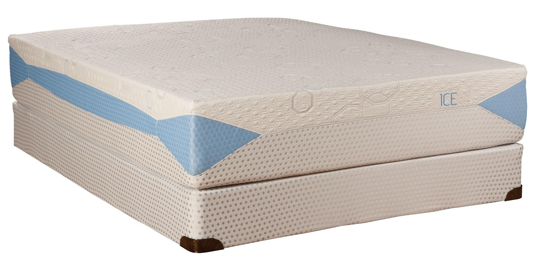 Kingsdown Blu-Tek Ice Queen Memory Foam Mattress  - Item Number: ICE-Q