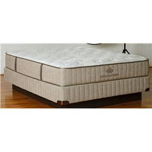 King Latex & Foam Mattress Low Profile Set