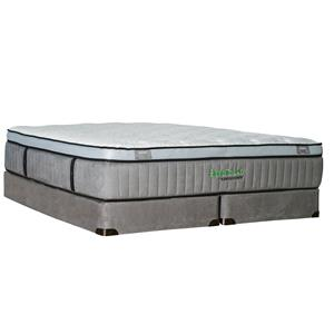 Kingsdown Sleep to Live 600 Queen Euro Top Mattress with Latex