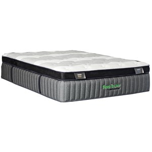 "King 16.5"" Ultra Firm Pillow Top Mattress"
