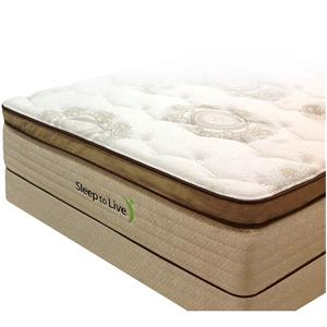 Kingsdown Body System 4 Twin Pocketed Coil Mattress and Foundation