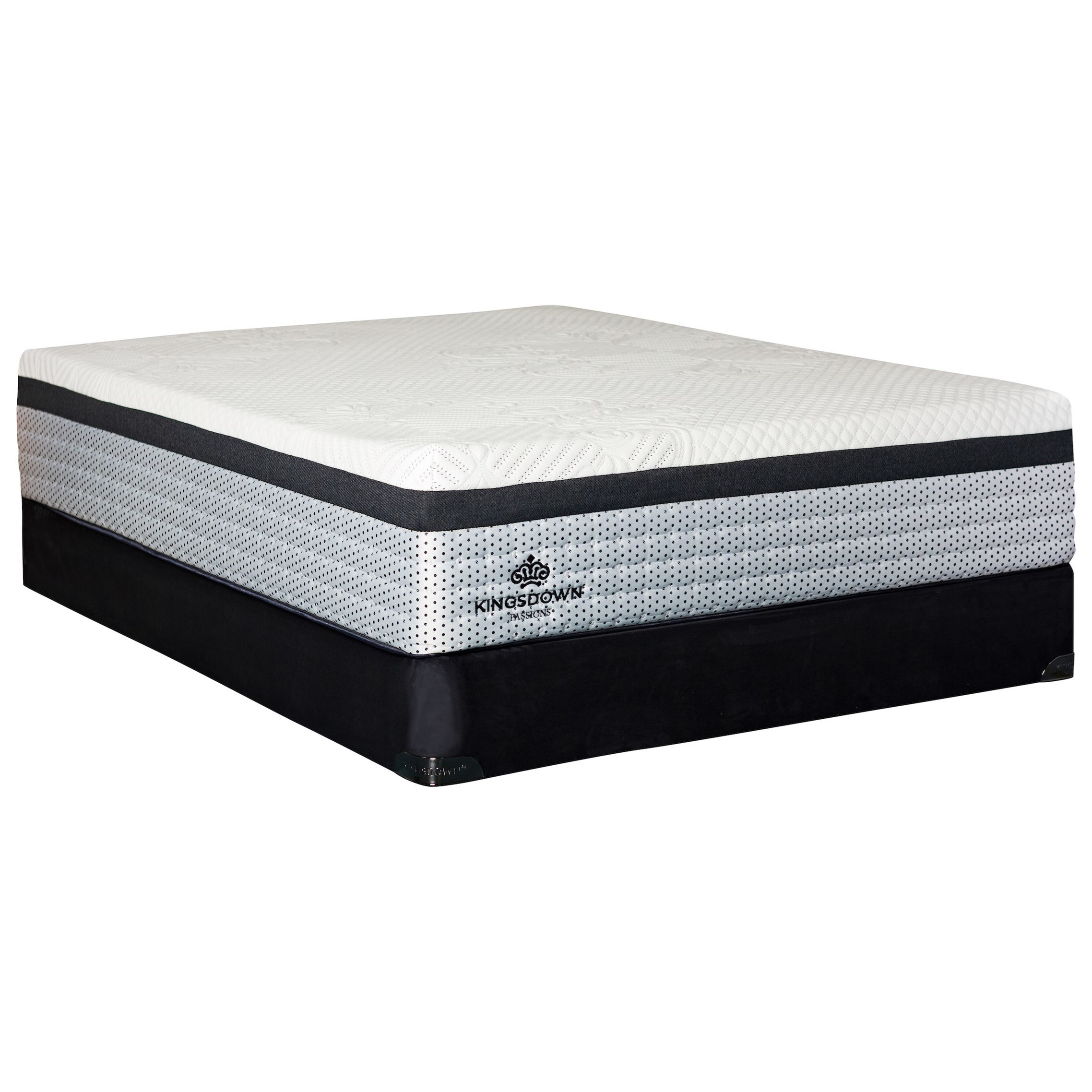 "Queen 14"" Hybrid Euro Top Mattress Set"