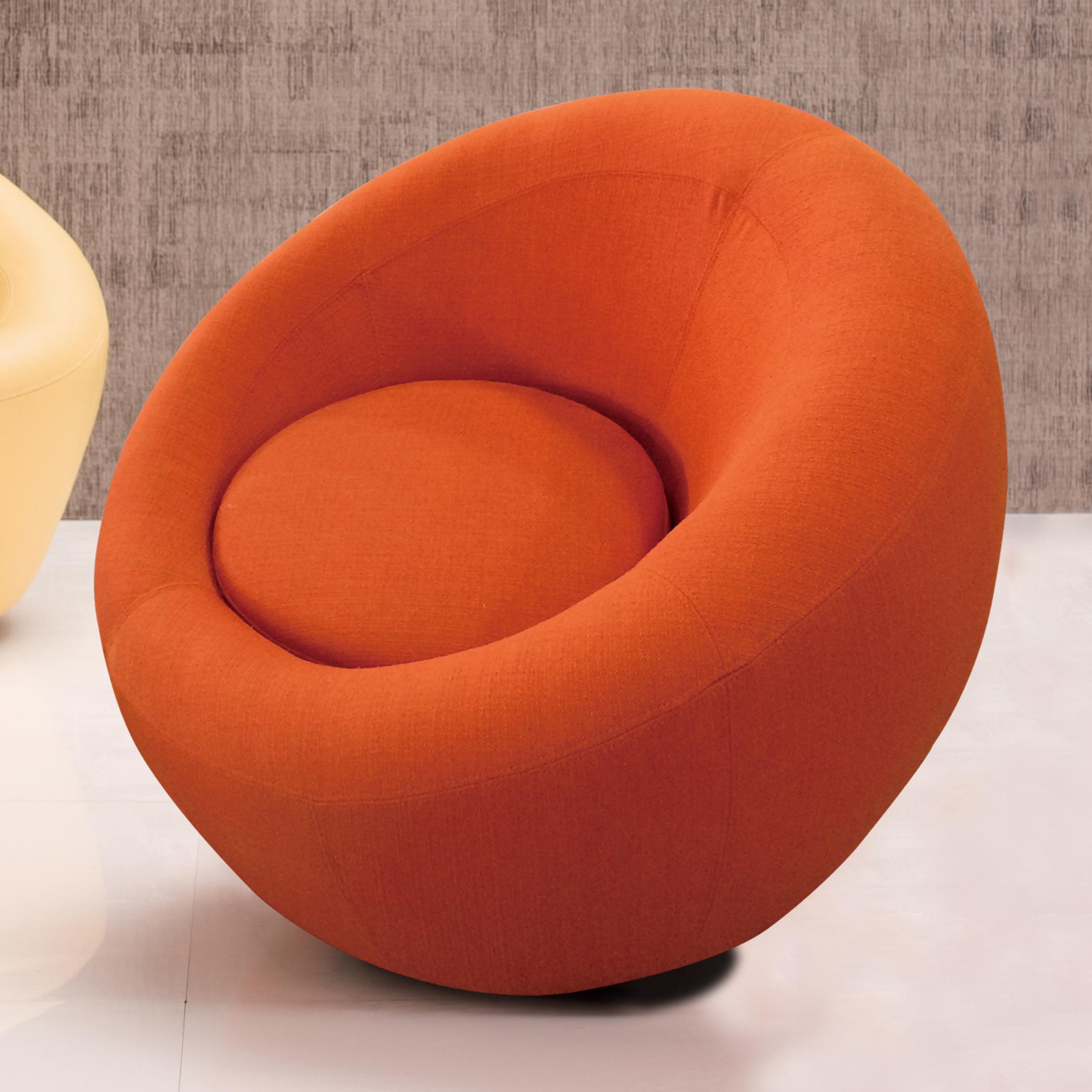 Kinwai USA York Swivel Chair Red Knot Uph Swivel Chair