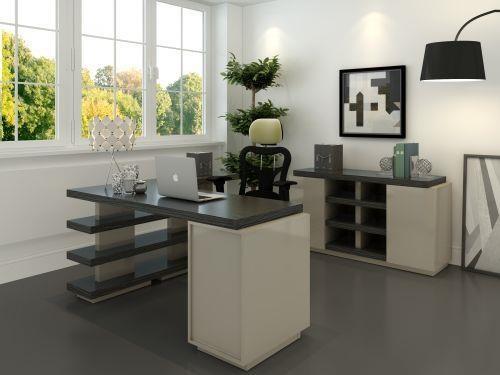 Tampa Desk by Kinwai USA at HomeWorld Furniture