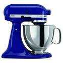 KitchenAid Artisan® Series Stand Mixers Artisan® Series 5 Qt Tilt-Head Stand Mixer - Item Number: KSM150PSBU