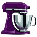 KitchenAid Artisan® Series Stand Mixers Artisan® Series 5 Qt Tilt-Head Stand Mixer - Item Number: KSM150PSBY