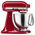 KitchenAid Artisan® Series Stand Mixers Artisan® Series 5 Qt Tilt-Head Stand Mixer - Item Number: KSM150PSER