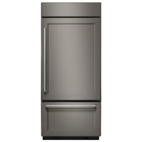 "KitchenAid Bottom Mount Refrigerators 20.9 Cu. Ft. 36"" Bottom Mount Refrigerator - Item Number: KBBR306EPA"
