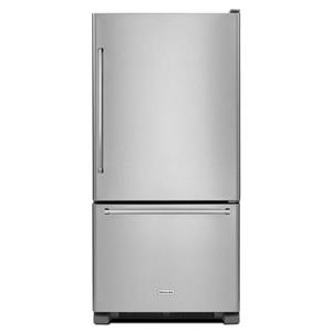 KitchenAid Bottom Mount Refrigerators 22 cu. ft. 33-Inch Bottom Mount Refrigerator