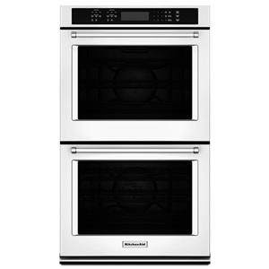 "KitchenAid Built-In Electric Double Ovens 8.6 Cu. Ft. 27"" Double Wall Oven"