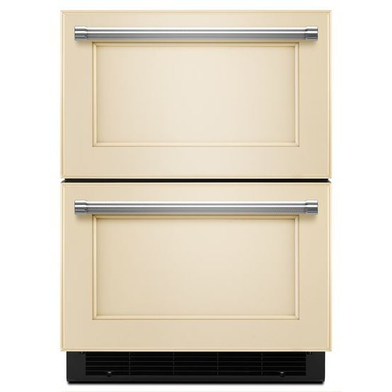 "KitchenAid Compact Refrigeration 24"" Panel Ready Refrigerator/Freezer Drawer - Item Number: KUDF204EPA"