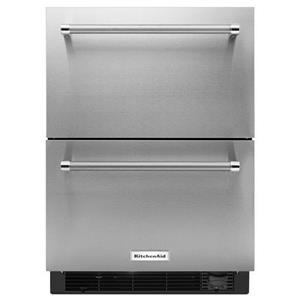 "KitchenAid Compact Refrigeration 24"" Panel Ready Refrigerator/Freezer Drawer"