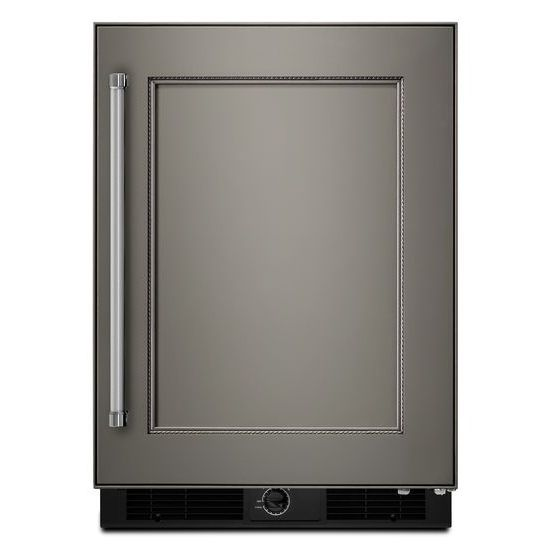 "KitchenAid Compact Refrigeration 24"" Panel Ready Undercounter Refrigerator - Item Number: KURR104EPA"