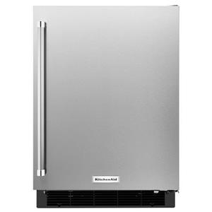 "KitchenAid Compact Refrigeration 24"" Panel Ready Undercounter Refrigerator"