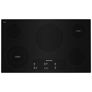 """36"""" Electric Cooktop with 5 Elements"""